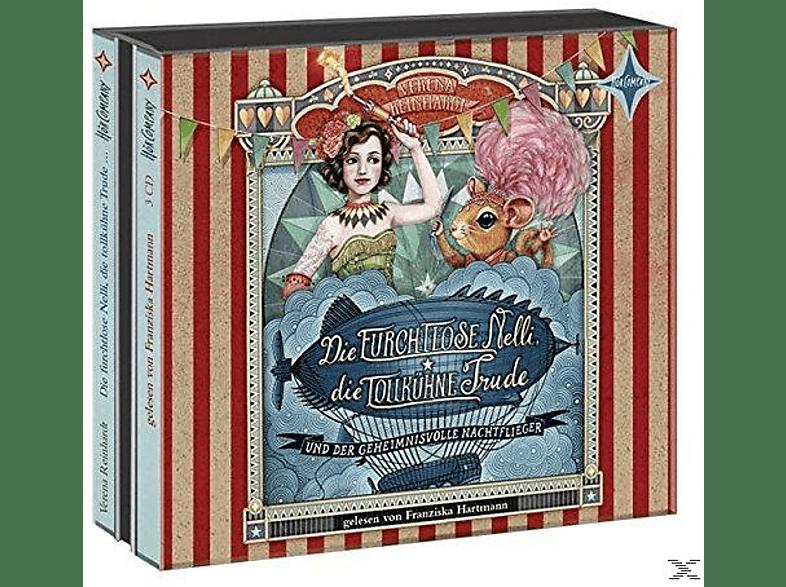 Verena Reinhardt - Die furchtlose Nelli, die tollkühne Trude und der geheimnisvolle Nachtflieger - (CD)