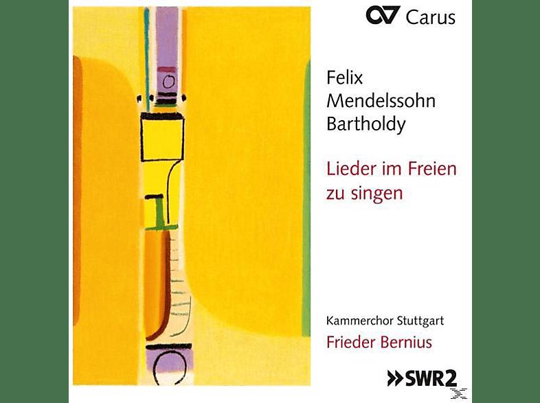 Frieder Bernius / Kammerchor Stuttgart - Lieder im Freien zu singen [CD]