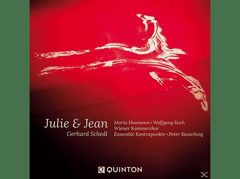 Maria Husmann, Wolfgang Koch, Wiener Kammerchor, Kontrapunkte Ensemble - Julie & Jean [CD]