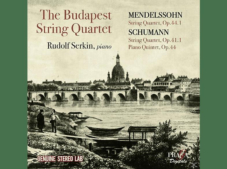 Rudolf Serkin, Budapest String Quartet - Streichquartette & Klavierquintett [CD]
