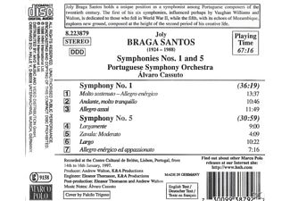Portuguese Symphony Orchestra - SYMPHONIES NOS. 1 & 5  - (CD)