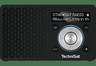 TECHNISAT DIGITRADIO 1 Radio, Digital, FM, DAB+, DAB, Schwarz/Silber