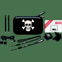 BIGBEN Nintendo 2DS XL Pack Essential Pirate, Zubehör Set, Schwarz