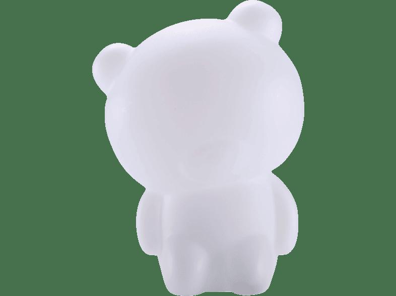 BIGBEN AU355987 Bär Bluetooth Lautsprecher, Weiß