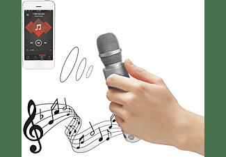 TERRATEC Karaoke Bluetooth Lautsprecher, Silber