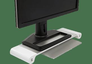 TERRATEC Spacebar Aluminium Monitor-Ständer mit 4 USB Ladeports
