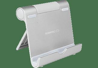 TERRATEC iTab S Smartphone & Tablet Multiwinkel Ständer, Silber