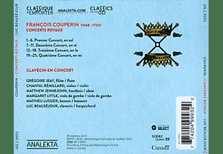 VARIOUS - Concerts Royaux/Pièces De Clavecin En Concert  - (CD)