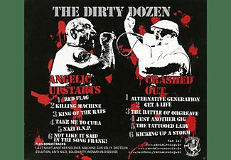 Angelic Upstart, Crashed Out Split - The Dirty Dozen  - (CD)