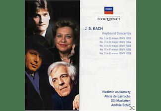 Vladimir Ashkenazy, Alicia De Larrocha, Olli Mustonen, András Schiff - Keyboard Concertos  - (CD)