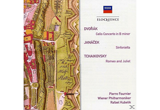 Pierre Fournier, Rafael Kubelik, Wiener Philharmoniker - Cello Concerto/ Sinfonietta/ Romeo & Juliet  - (CD)