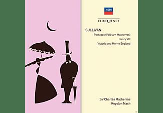 Royston Nash, Royal Philharmonic Orchestra, Sir Charles Mackerras, The Philharmonia Orchestra - Pineapple Poll/ Henry V/ Victoria & Merrie England  - (CD)