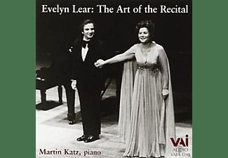 Evelyn Lear, Martin Katz - Evelyn Lear The Art Of The Recital  - (CD)