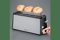 CLOER 3710 Toaster Schwarz (1380 Watt, Schlitze: 2)