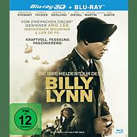 Die irre Heldentour des Billy Lynn [3D Blu-ray (+2D)]