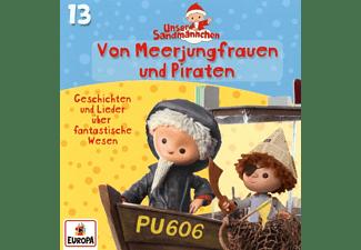 Unser Sandmännchen - 013/Von Meerjungfrauen und Piraten  - (CD)