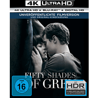 Fifty Shades of Grey - Geheimes Verlangen 4K Ultra HD Blu-ray + Blu-ray