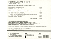 Vertigo Ensemble, Hochschule Der Künste Bern - ANGELUS NOVUS II [CD]
