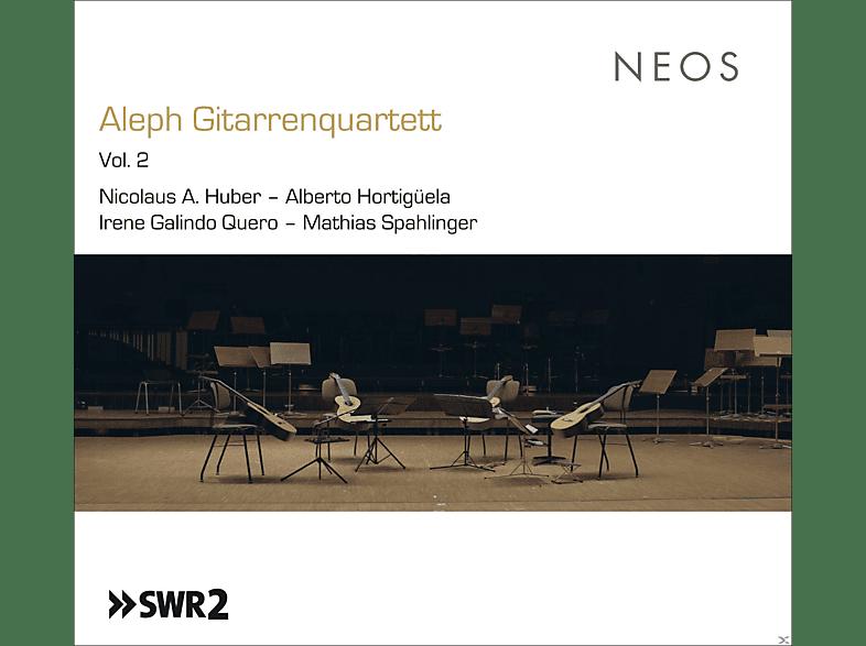 Aleph Gitarrenquartett - ALEPH GITARRENQUARTETT 2 [CD]