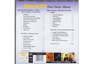 Sam Most - Four Classic Albums  - (CD)