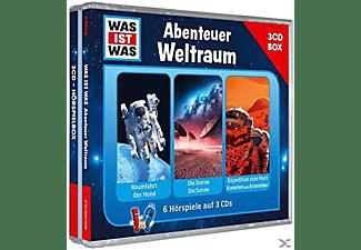 Was Ist Was - Was Ist Was 3-CD Hörspielbox Vol.6-Weltraum  - (CD)