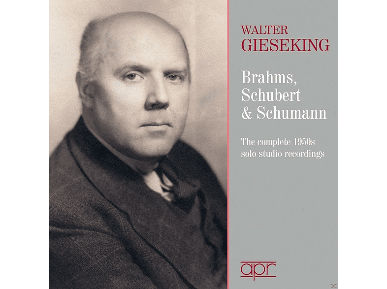 Walter Gieseking - The 1950s solo studio recordings [CD]