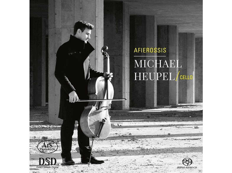 Michael Heupel - Afierossis-Werke des 20.& 21.Jh.f.Cello solo [SACD Hybrid]