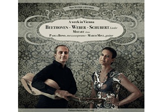 Paola Bono, Marco Minà - A Week In Vienna  - (CD)