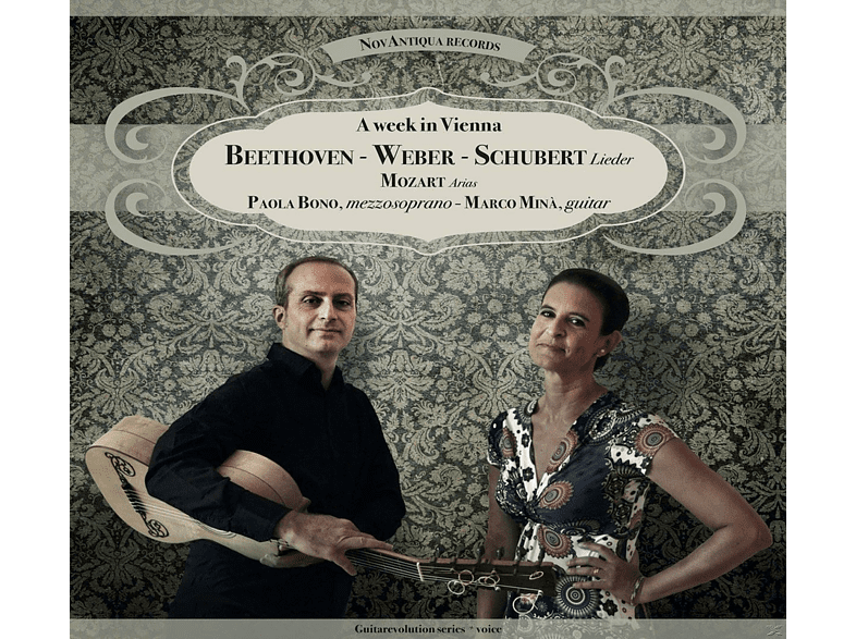 Paola Bono, Marco Minà - A Week In Vienna [CD]