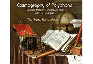 The Royal Wind Music - Cosmography of Polyphony  - (CD)