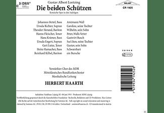 Oettel, Richter, Horand, Haarth, Mitteldt.Rundfunkor. - Die Beiden Schützen  - (CD)