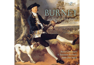 Anna Clemente, Susanna Piolanti - Sonatas For Piano Four Hands  - (CD)