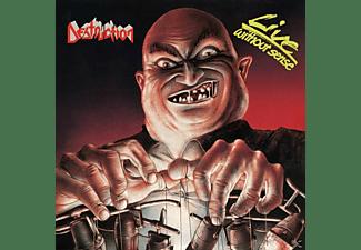 """Destruction - Live Without Sense (Coloured Vinyl+7"""")  - (Vinyl)"""