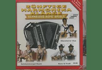 VARIOUS - ZÜNFTIGE HARMONIKA KLÄNGE  - (CD)