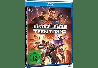 DC Justice League vs Teen Titans Blu-ray