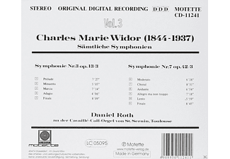 Roth Daniel - Orgelsinfonien 3 & 7  - (CD)