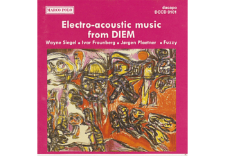 VARIOUS - Electro-acoustic music from DIEM  - (CD)