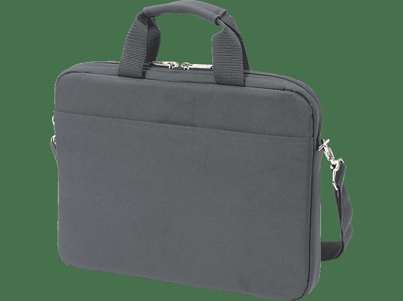 DICOTA Slim Case BASE Notebookhülle, Umhängetasche, 14.1 Zoll, Grau