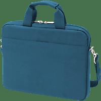 DICOTA Slim Case BASE Notebookhülle, Umhängetasche, 14.1 Zoll, Blau