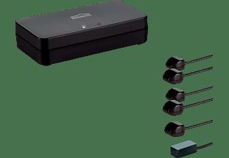 MARMITEK Marmitek Invisible Control 6 XTRA SMART IR-Verlängerung, Schwarz