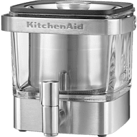 KITCHENAID 5KCM4212SX Kaffeebereiter Silber/Transparent