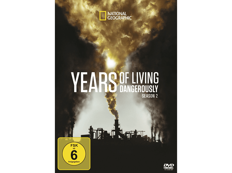 Years Of Living Dangerously - Staffel 2 [DVD]