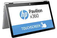 HP Pavilion x360 15-br070ng, Convertible mit 15.6 Zoll Display, Core™ i5 Prozessor, 8 GB RAM, 256 GB SSD, Radeon™ 530 Grafikkarte, Silber