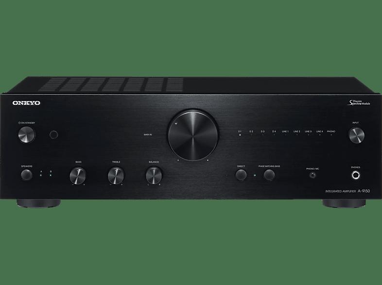 ONKYO A-9150 (B) Stereoverstärker (2 Kanäle, Schwarz)