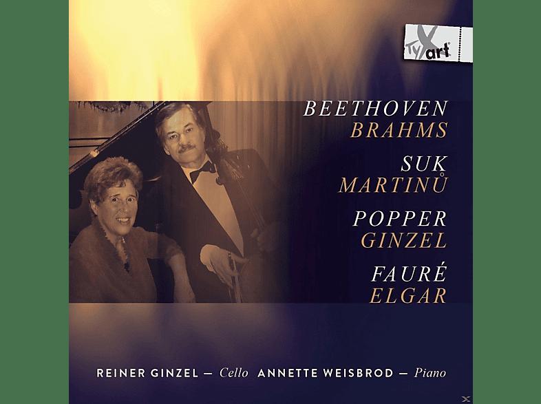 Reiner Ginzel, Weisbrod Annette - Werke Für Cello Und Klavier [CD]