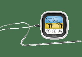 ADE BBQ 1600 Bratenthermometer , Schwarz/Silber