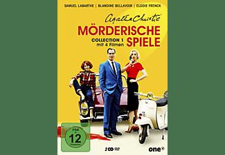 Agatha Christie - Mörderische Spiele Collection 1 DVD