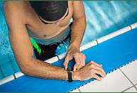 NOKIA  Activité STEEL HR Fitnesstracker Edelstahl, Silikonband, 36 mm, Schwarz