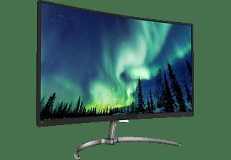 "Monitor - Philips 278E8QJAB/00, 27"" Full HD, Curvo, WLED, Negro"