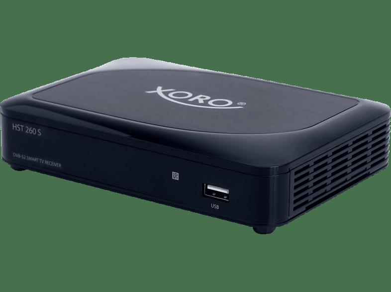 XORO HST 260 S DVB-S2 Receiver (HDTV, PVR-Funktion, DVB-S, DVB-S2, Schwarz)